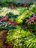 """Spring Garden"" Connie Horton Oil""Spring Garden"" Connie Horton Oil"